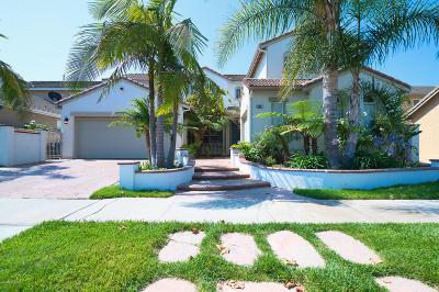 Oxnard Single Family Home For Sale: 600 Ocotlan Way