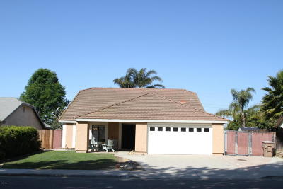 Camarillo Single Family Home For Sale: 959 Skeel Drive
