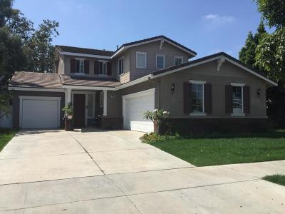 Oxnard Single Family Home Active Under Contract: 1903 Snow Avenue