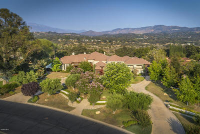 Ojai Single Family Home For Sale: 12490 Macdonald Drive