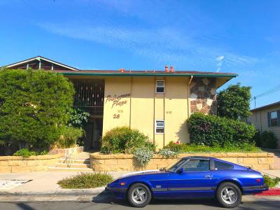 Santa Barbara Multi Family Home For Sale: 28 W Pedregosa Street