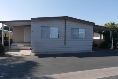 Oxnard Mobile Home For Sale: 1300 E Pleasant Valley Road #27