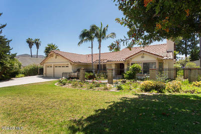 Camarillo Single Family Home Active Under Contract: 1891 Via Montecito