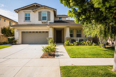 Camarillo Single Family Home Active Under Contract: 3750 Golden Pond Drive