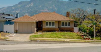 Santa Paula Single Family Home For Sale: 954 Terracina Drive