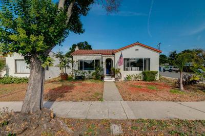 Ventura Single Family Home Active Under Contract: 485 Jones Street
