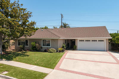 Ventura Single Family Home Active Under Contract: 390 Ashwood Avenue