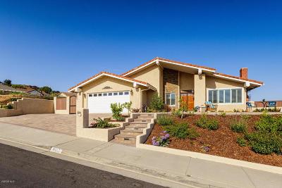 Ventura Single Family Home Active Under Contract: 802 Monte Vista Avenue