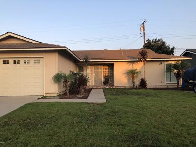 Oxnard Single Family Home Active Under Contract: 2271 Isabella Street