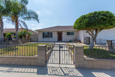 Oxnard Single Family Home Active Under Contract: 4411 Concord Way