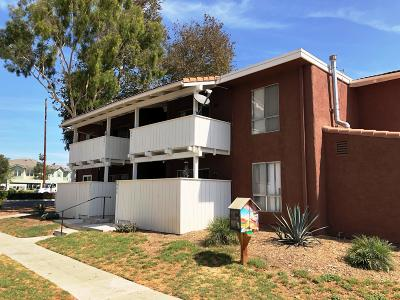 Ventura Single Family Home For Sale: 1300 Saratoga Avenue #501