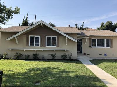 Santa Paula Single Family Home For Sale: 225 Wakeford Street