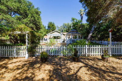 Ojai Single Family Home For Sale: 11249 Ventura Avenue