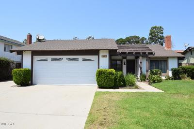 Camarillo Single Family Home For Sale: 2497 Kimberly Avenue