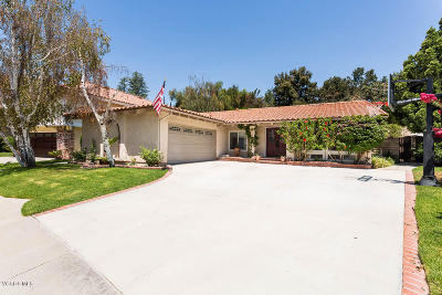 Westlake Village Single Family Home Active Under Contract: 2117 Basswood Court