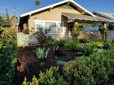 Fillmore Single Family Home For Sale: 417 Fillmore Street