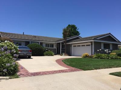 Camarillo Single Family Home For Sale: 1043 Rowland Avenue