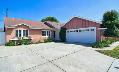 Ventura Single Family Home For Sale: 350 Burl Avenue