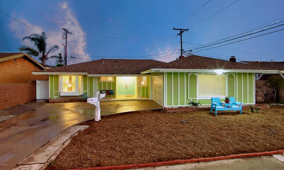 Oxnard Single Family Home Active Under Contract: 930 W Poplar Street