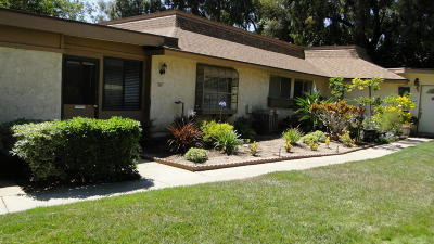 Camarillo Single Family Home For Sale: 7167 Village 7 #7