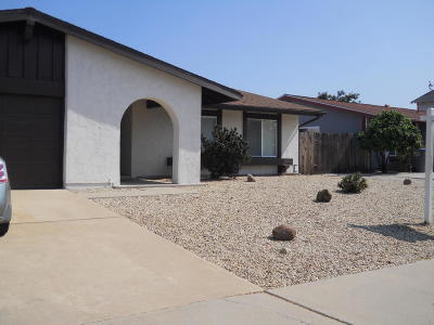 Oxnard Single Family Home Active Under Contract: 3601 Miramar Way