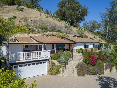 Santa Barbara Single Family Home For Sale: 1704 Mission Ridge Road