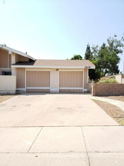 Camarillo Single Family Home Active Under Contract: 4949 Alta Colina Road