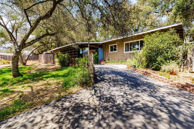 Ojai Single Family Home Active Under Contract: 611 S La Luna Avenue
