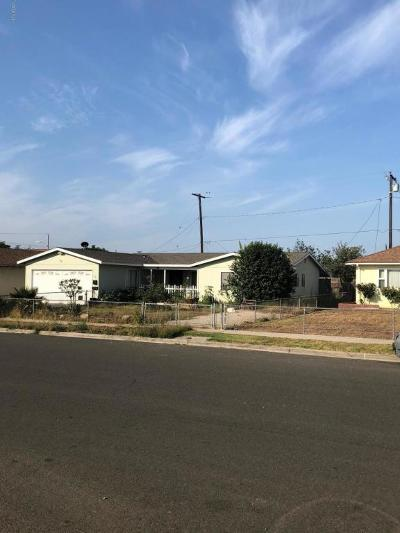 Ventura Single Family Home For Sale: 1461 Mead Avenue