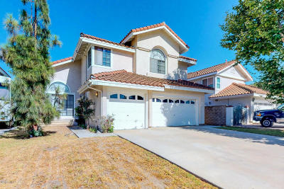 Camarillo Single Family Home Active Under Contract: 1611 Paso Robles Court