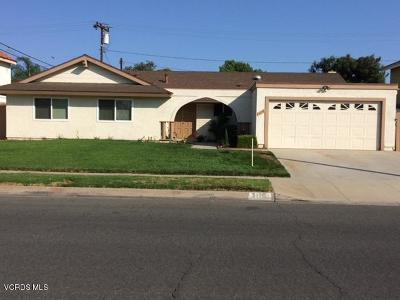 Camarillo Single Family Home For Sale: 3170 Dwight Avenue