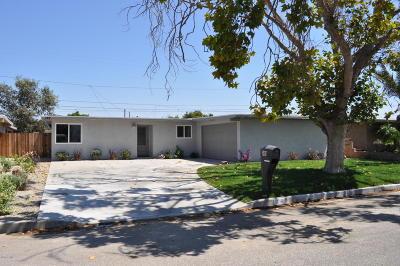 Oxnard Single Family Home For Sale: 349 Salem Avenue