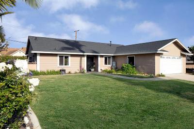 Ventura Single Family Home For Sale: 382 Ashwood Avenue