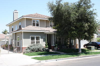 Oxnard Single Family Home For Sale: 631 Roble Lane