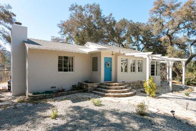 Oak View Single Family Home For Sale: 210 Ventura Avenue