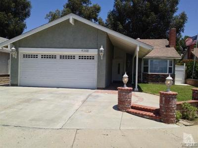 Moorpark Rental For Rent: 4368 Brookdale Lane