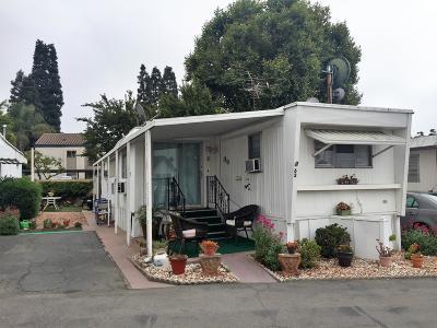 Ventura Mobile Home For Sale: 3975 Telegraph Road #62