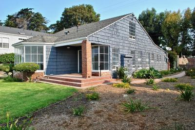 Ventura Single Family Home For Sale: 1511 Vista Del Mar Drive