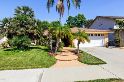Oxnard Single Family Home For Sale: 2040 Pamela Street