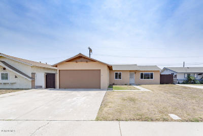 Port Hueneme Single Family Home Active Under Contract: 786 Thayer Lane