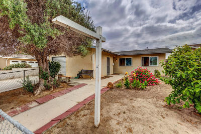 Oxnard Single Family Home For Sale: 320 Alpine Street