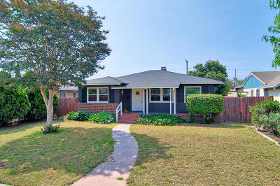 Oxnard Single Family Home Active Under Contract: 530 W Beverly Drive