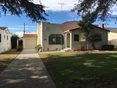 Oxnard Single Family Home For Sale: 669 Deodar Avenue