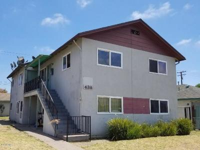 Oxnard Rental For Rent: 438 G Street #3
