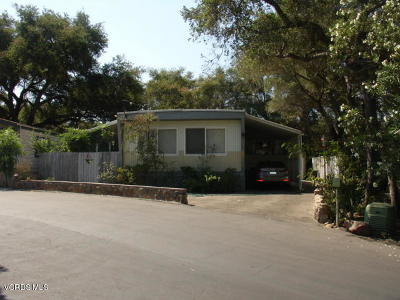 Ojai Mobile Home Active Under Contract: 1273 S Rice Road #18