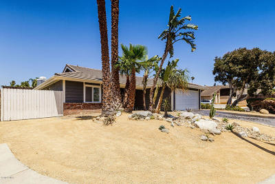 Ventura Single Family Home For Sale: 6413 Kingfisher Place