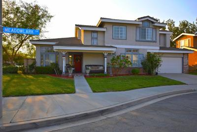 Fillmore Single Family Home Active Under Contract: 957 Meadowlark Drive