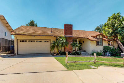 Simi Valley Single Family Home Active Under Contract: 1188 Nonchalant Drive