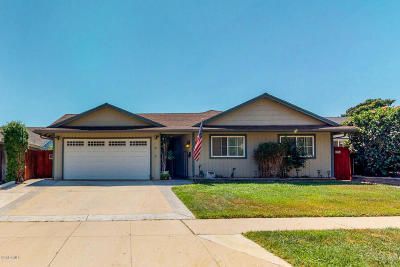 Ventura Single Family Home For Sale: 181 Cambria Avenue