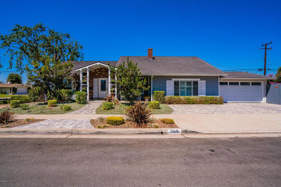 Camarillo Single Family Home For Sale: 1269 Palmer Avenue
